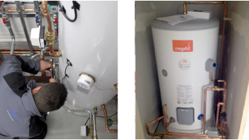 Unvented Hot Water Systems Ashbourne Central Heating